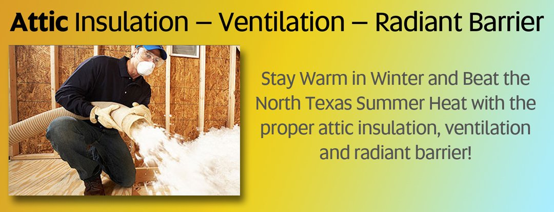 Stay warm in winter and cool in summer with proper attic insulation, ventilation, and radiant barrier from Efficient Home Solutions