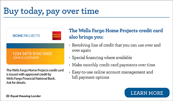 Wells Fargo National Bank Home Projects Financing