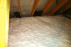 Attic Insulation after