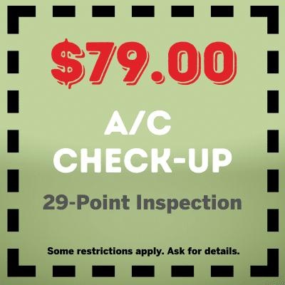 29 Point AC Checkup