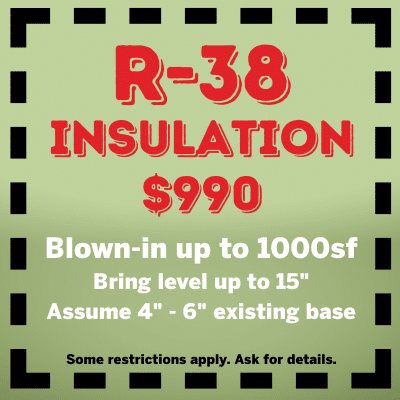 R-38 Insulation Coupon