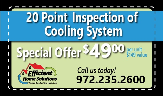 Efficient Home Solutions Cooling Inspection Coupon