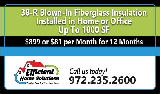Efficient Home Solutions Insulation Coupon